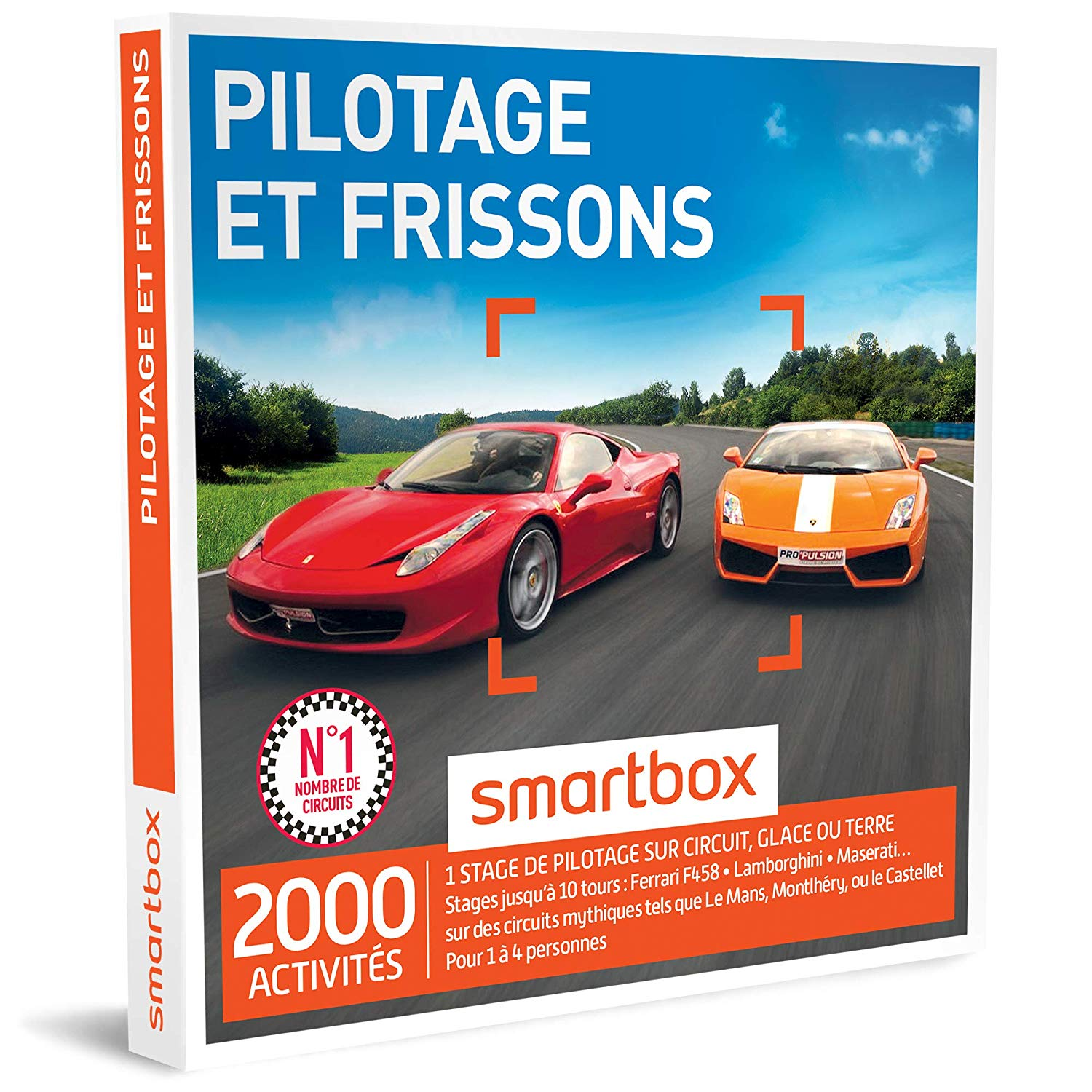 smartbox stage pilotage